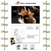 Announcement Magna-Peel Postcard (8.5x5.25) with Business Card Magnet